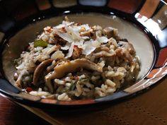 Spiced Mushroom Risotto