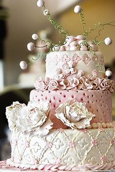 cakes - detailed flowers