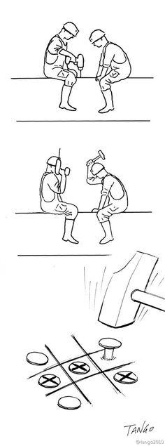 Это веб комиксы художников, организовавших сообщество под названием tango2010weibo.Чудесные, жизнелюбивые картинки, без черного юмора (редкость в наше время) говорят со зрителем на визуальном космополитическом языке. Сайт  http://tango2010weibo.tumblr.com/