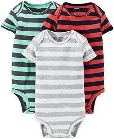 Carter's Baby Boys' 3 Pack Striped Bodysuits (Baby) - Assorted - 6 Months Carter's http://www.amazon.com/dp/B00QQM1X1Q/ref=cm_sw_r_pi_dp_W9ykvb1GJWG9R