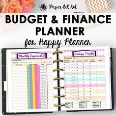 This Happy Planner Budget Pages Finance Printables Happy Planner is just one of the custom, handmade pieces you'll find in our calendars & planners shops. Planner Budget, Arc Planner, Monthly Budget, Planner Pages, Printable Planner, Planner Stickers, Planner Ideas, Monthly Expenses, Life Planner