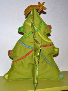 Quilted 3D Christmas Tree