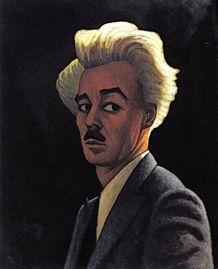 Lawren Harris, self-portrait, 1932, oil on paperboard. Art Gallery of Ontario.