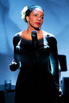 Audra McDonald as Billie Holiday in LadyDayatEmerson'sBar&Grill