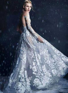"myfantasyhautecouture: "" The Bride of Winter """