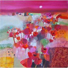 Emma Davis; Poppy Field, Tuscany (Limited Edition Print)