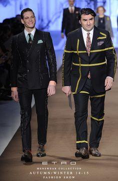 ETRO Man Autumn Winter 14-15 Fashion Show
