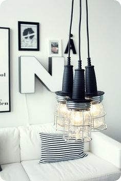 LAMPE AU LOOK INDUSTRIEL:BUY IT OR DIY