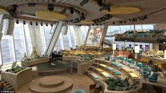 Billed as 'the world's most futuristic and advanced ship', Quantum of the Seas is the firs...
