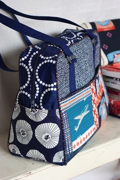 Weekender Bag by Amy Butler by pink chalk studio
