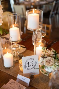 302 best candle wedding centerpieces images on pinterest wedding photo cristina g photography chic wedding centerpiece idea junglespirit Images