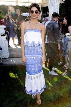 Emily Ratajkowski lors du premier week-end du Festival de Coachella