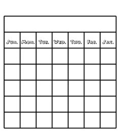 Get Your Free Printable Blank Calendar  Printables