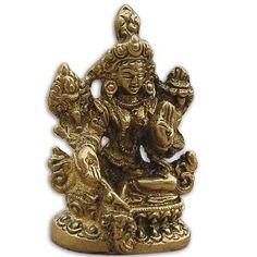 Tara Buddha Statue Buddhist Art Sculpture Brass Spiritual Gift 5.72 x 3.18 x 3.18 Cms: Amazon.co.uk: Kitchen & Home