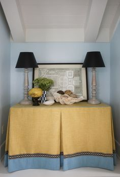 Skirted Console Table   Google Search