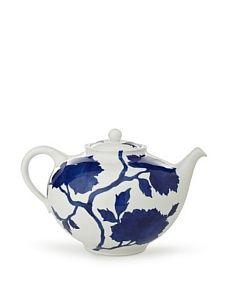 Lovely blue flower tea pot