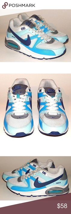 4be0408a6a2 PRICE⏰ Nike Air Max 90 Womens Athletic Shoe Nike Air Max 90 Womens Command  Athletic Shoe Blue Size 7 Excellent pre-owned condition