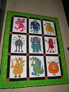 Chases Monster quilt