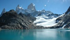Cerro Fitz Roy, en el Parque Nacional Los Glaciares (Argentina). Fotos: Ministerio de Turismo de Santa Cruz