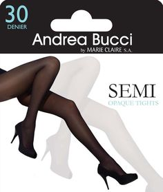 Andrea Bucci 10 Denier Silk Satin Sheen Knee High|One Size|2 Pairs