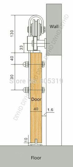 The popularity of barn doors makes finding barn doors for sale easy. Learn the things that you must consider when buying barn doors. The Doors, Wood Doors, Windows And Doors, Sliding Barn Door Hardware, Sliding Doors, Rustic Hardware, Sliding Door Wheels, Sliding Door Design, Door Hinges