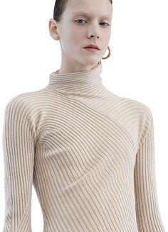 Aline rib light beige