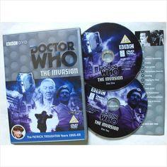 Doctor Who BBC DVD The Invasion 2 disc R2 UK 5014503182922 on eBid United Kingdom