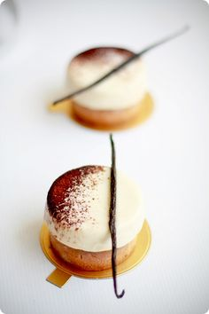 The god of French pastry, Pierre Herme's infiniment vanille tart