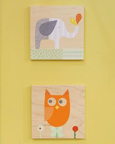 DIY Owl Collage Template
