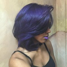 Go all the way this fall with the blues and matching lips. We . Www.ihearthairinc.com