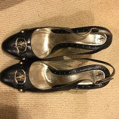 Selling this Versace Heels in my Poshmark closet! My username is: mongilutzs. #shopmycloset #poshmark #fashion #shopping #style #forsale #Versace #Shoes
