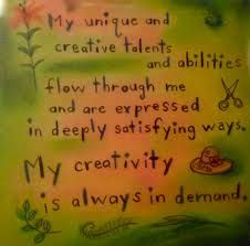 Courage My unique and creative talents and abilities flow through me and are expressed in deeply satisfying ways. My creativity is always in demand ~Louise Hay Louise Hay Affirmations, Positive Affirmations, Louise Hay Quotes, Spiritual Counseling, Daily Health Tips, Affirmation Cards, Negative Self Talk, You Are Worthy, Self Development