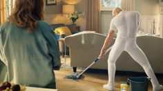 "Mr. Clean gets sexy in a new Super Bowl ad that declares, ""You gotta love a man who cleans."" Mr. Clean does it all over the house, and there's a sexy Mr. Clean Super Bowl commercial to …"