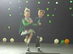 Sadie 5 years old & Sean 7 years old at the LA Irish Festival in Pomona, Irish Dance!