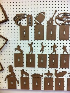 Hardboard light switch covers - just a thought