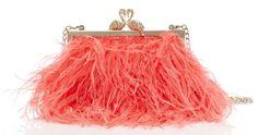 Kate Spade Madison Flamingo Clasp Clutch