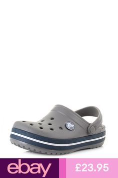 22dc82072694f Crocs Crocband Clog Kids - Cerulean Blue Infants Toddlers  Size 11 ...