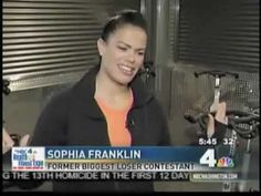 Sport&Health: Sophia Franklin of The Biggest Loser (+playlist)