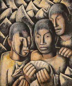 forma es vacío, vacío es forma: Alfredo Ramos Martínez - pintura
