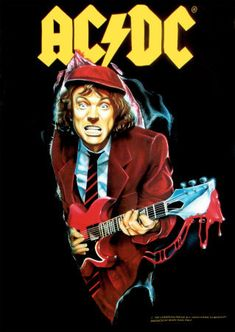 AC/DC. I love them so much!!! I can be in a crappy mood and these boys make me happy every time!