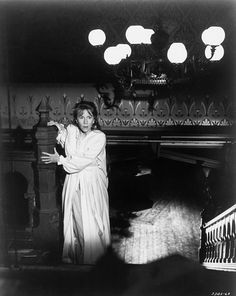 Julie Harris in The Haunting, based on the novel by Shirley Jackson and directed by Robert Wise (MGM, Haunted House Film, Best Haunted Houses, Poltergeist 1982, Robert Wise, Shirley Jackson, Picture Boxes, Psychological Horror, Great Fear, Horror House