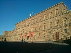 Palazzo Pitti #EuropeosViajeros #Florencia #Firenze #Italia #Italy #Europe #Viaje #Travel #Turismo #Tourism