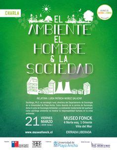 """""""El ambiente, el hombre y la sociedad"""" en Viernes de Cultura + Ciencia"""