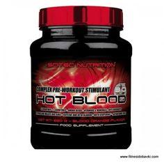 Scitec nutrition hot blood 3.0 е хранителна добавка, която увеличава нивата на азотен оксид, напомпва мускулите и оптимизира менталния фокус.