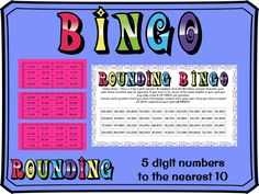 Rounding to the nearest 10 with 5 digit numbers bingo Rounding Activities, Learning Activities, Tes Resources, Teaching Resources, Easter Jokes, Math Bingo, Dice Template, Assessment For Learning