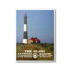 Fire Island National Seashore Poster – National Park Life