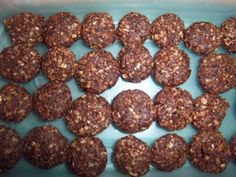 Jazzy Allergy Recipes: Egg Free, Dairy Free, Nut Free No Bake Chocolate Oat Cookies