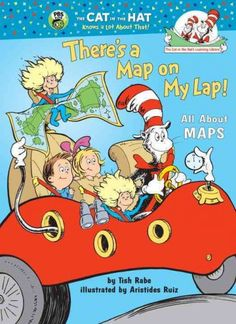 The Cat in the Hat teaches Dick and Sally about cartography and the uses of different kinds of maps.