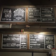 New menu boards are up! Come check us out. Between 3rd and 4th Street on Cleveland Ave in the heart of Lovely Downtown Canton.