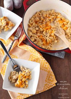 Delicious family dinner recipe. Easy homemade mac and cheese!